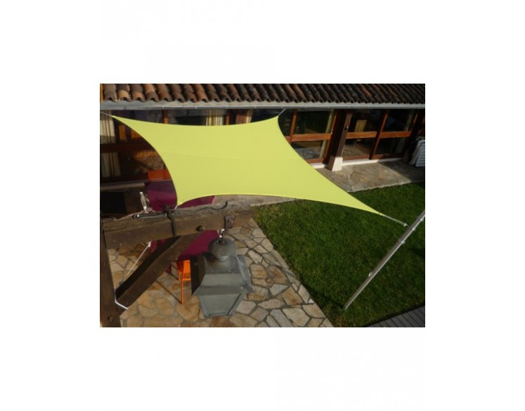 Voile D'Ombrage Sun & Vela Easy Sail Pour Ombrager Terrasse Ou Jardin