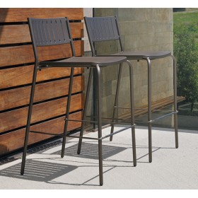 tabouret bridge emu meuble de jardin en acier vernis meubles de jardin. Black Bedroom Furniture Sets. Home Design Ideas