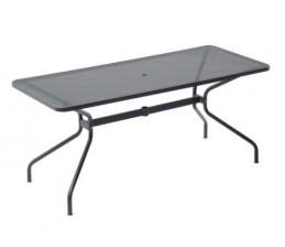 Table Rectangulaire CAMBI en acier 180 x 80 cm - EMU
