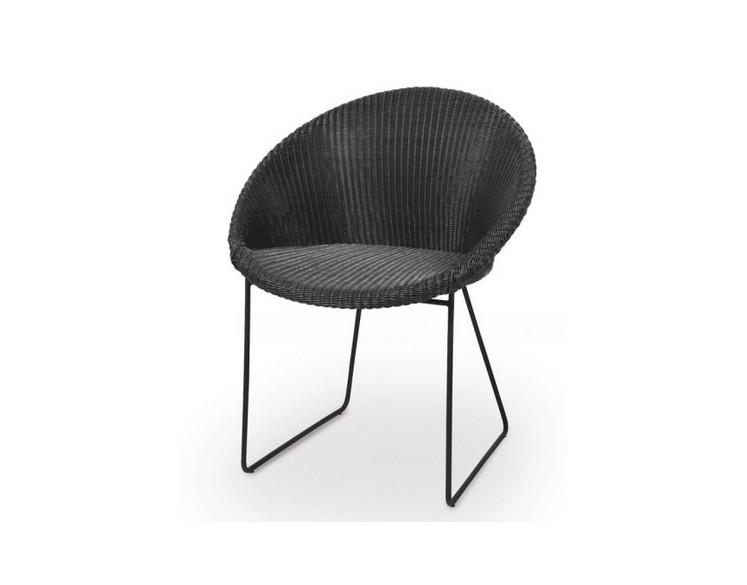 Chaise en résine GIPSY DC (black frame)