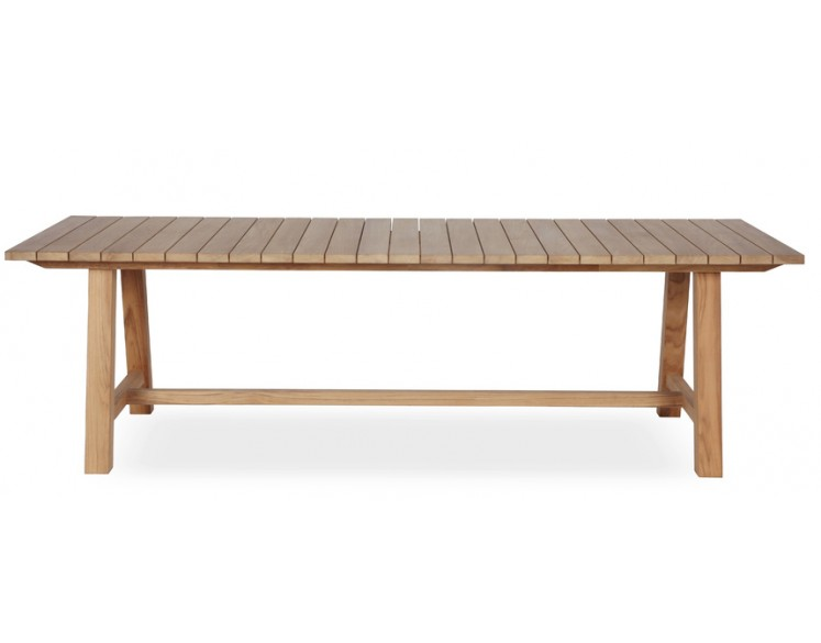 Table BERNARD en teck 220 x 100 cm