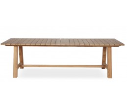 Table BERNARD en teck 300 x 100 cm