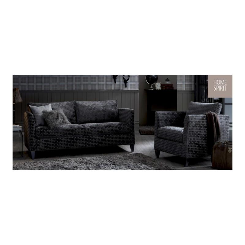 fauteuk austin de chez home spirit tr s compact faible profondeur. Black Bedroom Furniture Sets. Home Design Ideas