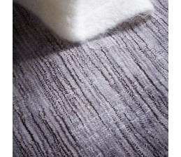 Tapis OPUS Taupe effet chiné - HOME SPIRIT