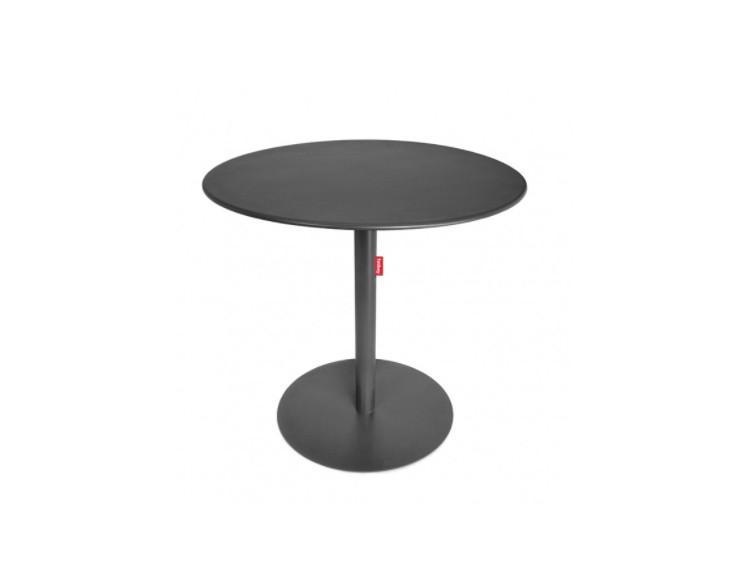 Table ronde formitable par fatboy diam tre 80 cm en acier for Table exterieur galvanise