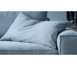 Lot de 2 coussins CHAMONIX - Flocons mousse