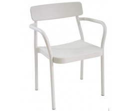 Lot de 4 Fauteuils empilables GRACE - EMU