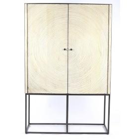 Buffet SPIRAL 91,5 x 40 x haut.140 cm - POMAX