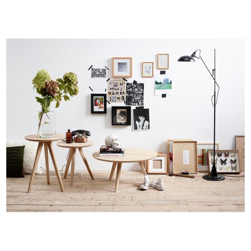 table d 39 appoint basse dan ch ne diam 45 cm int rieur 202. Black Bedroom Furniture Sets. Home Design Ideas