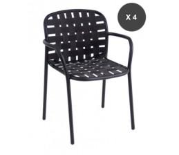 Lot de 4 fauteuils  YARD - EMU