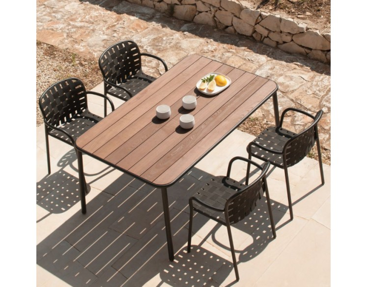 Table de repas extensible YARD 160 x 97 cm - EMU