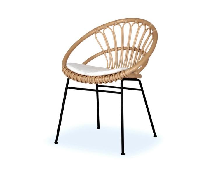 Chaise en rotin KIKI - ATELIER N/7