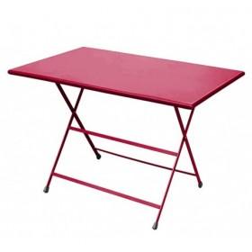 Table rectangulaire 110 x 70 cm / ARC EN CIEL / 10 coloris