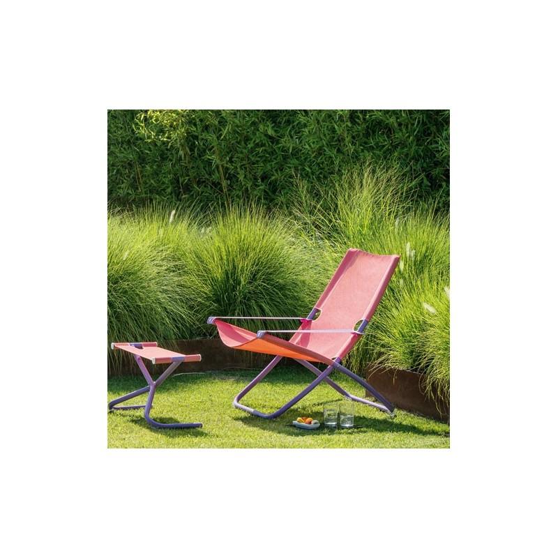 Chaise longue et repose pied snooze int rieur 202 for Chaise longue avec repose pied