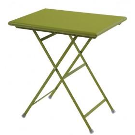 Table rectangulaire 70  x 50 cm / ARC EN CIEL / 10 coloris