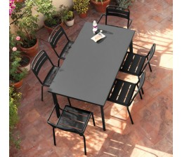 Table rectangulaire STAR 160 x 90 cm