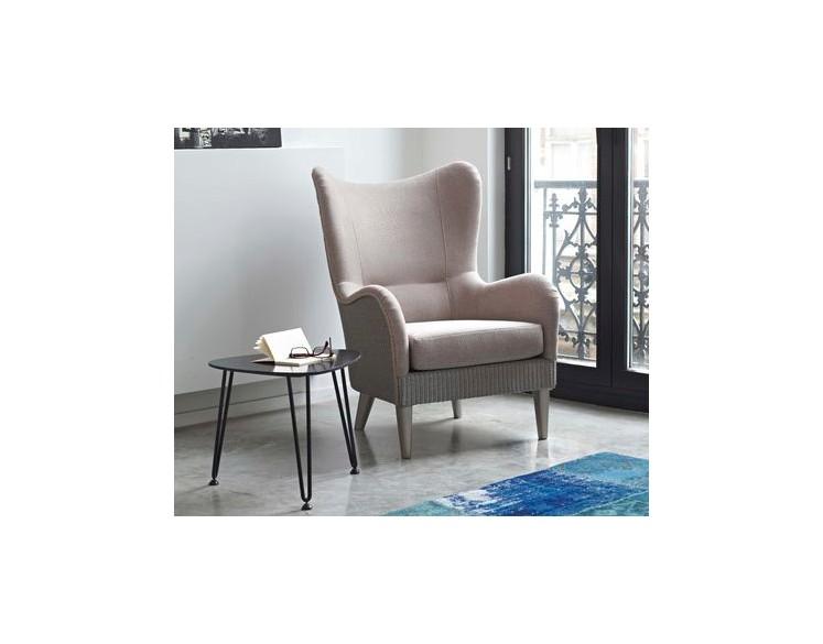 Table basse acier roy 50 cm int rieur ext rieur by for Table exterieur largeur 50