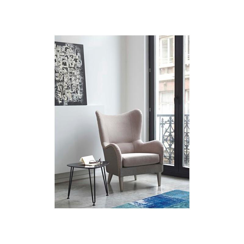 Table basse acier rozy 50 cm int rieur ext rieur by for Table exterieur galvanise
