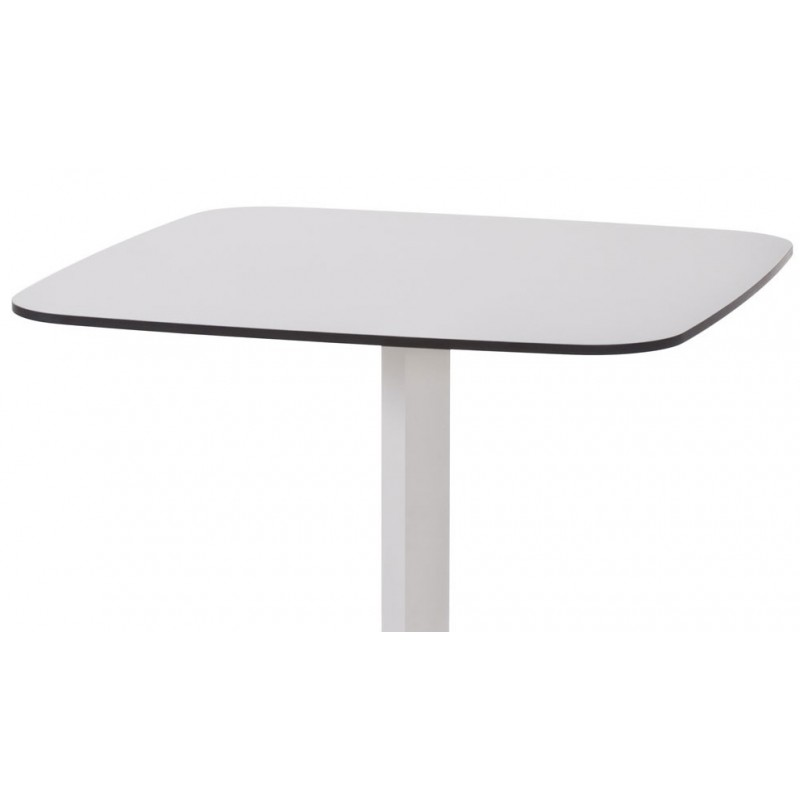 Table haute shine de chez emu longueur 60 x 60 cm for Table exterieur hpl