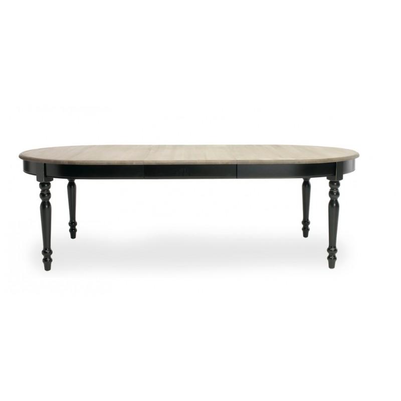 Table ovale versailles extensible jusqu 39 310 cm vincent sheppard - Table noire extensible ...