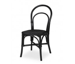 Chaise JACOB coloris Noir
